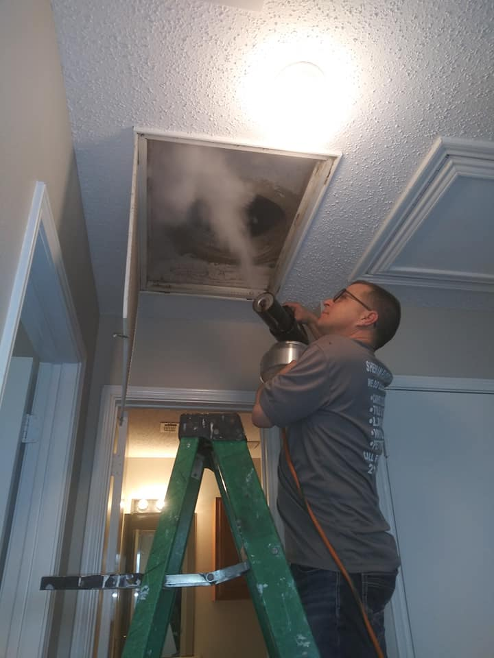 Air Duct Cleaning by Sherman Floor Care Services