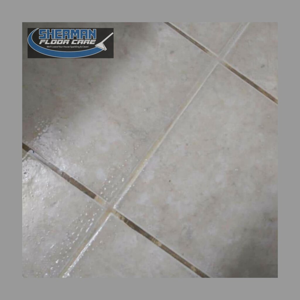 Tile Grout Cleaning by Sherman Floor Care